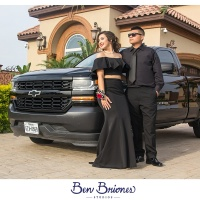Brianna & RJ PROM - Edinburg, Texas - Ben Briones Studios