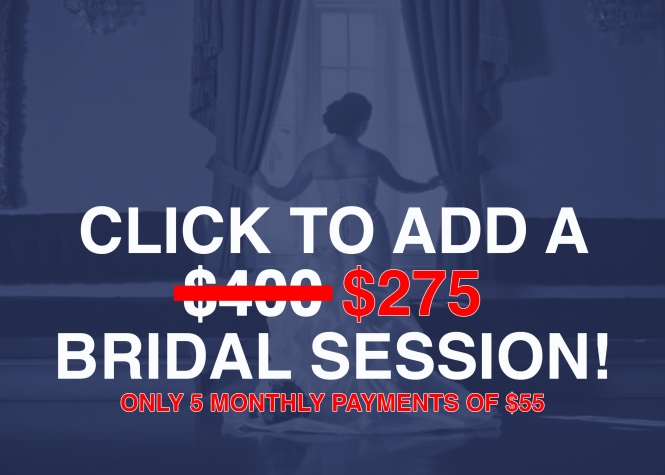 Add Bridal Session Promo 2