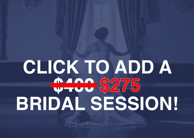 Add Bridal Session Promo