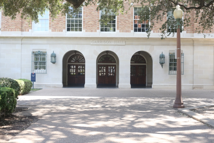 Garrison Hall at The University of Texas at Austin.