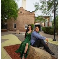 Miguel and Deborah Engagement - Hidalgo Pumphouse - Ben Briones Studios