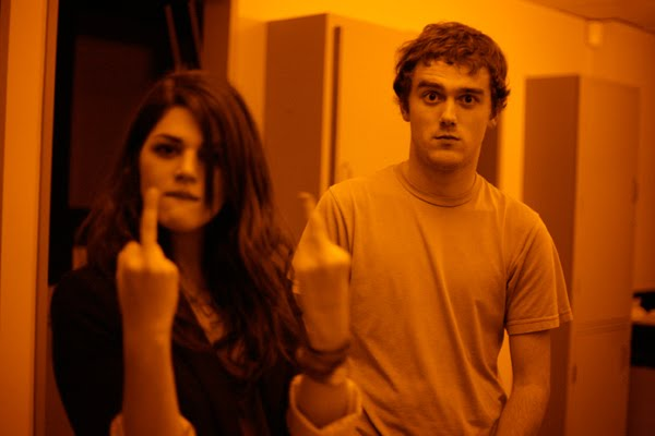 UT-Austin classmates Thomas Allison and Callie Hernandez
