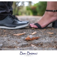 Bianca and Art Engagement Session - Estero Llano Grande State Park - Ben Briones Studios