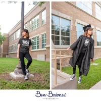 Alyssa Garcia Grad Session - Edinburg, Texas - Ben Briones Studios