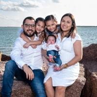 Fuentes Family Portraits - South Padre Island, Texas - Ben Briones Studios